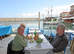 Meal at a harbour taverna